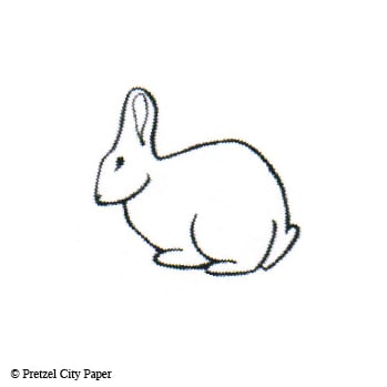 Small Bunny Stamp