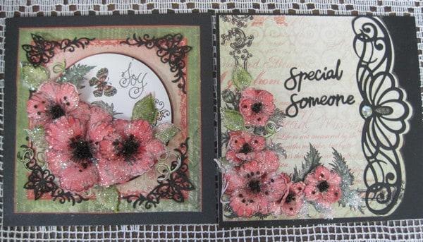 April 21 Heartfelt Poppy cards with Lynda