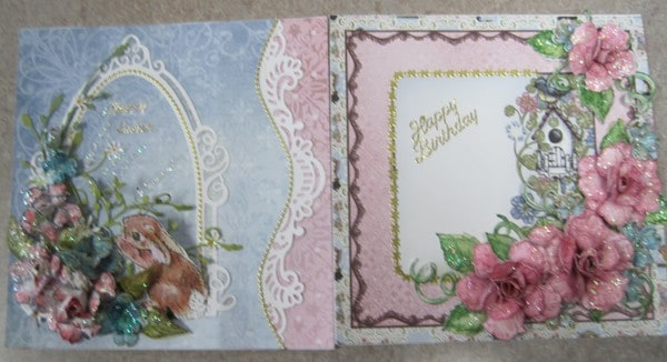 March 17 Heartfelt cards with Lynda