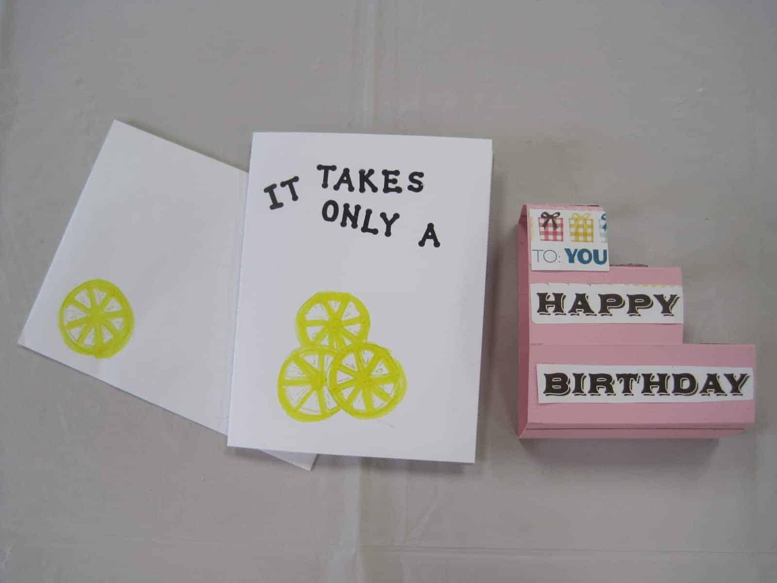 June 9 Kids Card Class & Beginner's too!