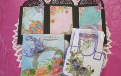 "April 13 Sat. Heartfelt ""Burst of Spring"" card class with Lynda 9:30 a.m."