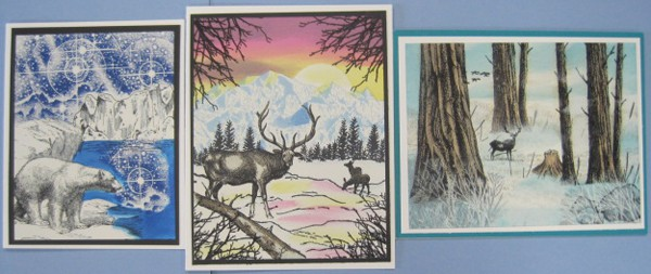 May 23, Thurs. Stampscapes card class with Char! 9:30 am