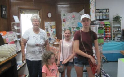 Our 14th Open House & Used Stamp Sale Aug. 3 was a fun time!