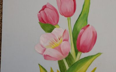 Oil Paint Tulips with Nina S. – Sat., Feb. 15th 9:00 – 11:00 a.m.