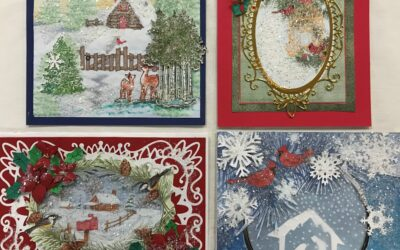 Heartfelt Card Class Nov. 28, Sat., Kit only, pick up 10 am -1 pm Sat. 28th or the next week – no class this month! Sorry