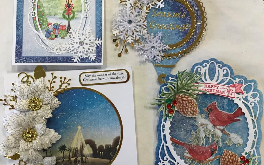 Heartfelt card class Dec. 10, Thurs. 10 am – Kit only this time