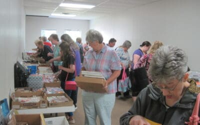 July 17, Sat. our 16th Open House & Used Stamp Sale 9 a.m. – 1 p.m.