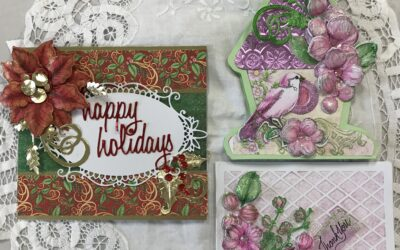 Aug. 19, Thurs. 9-noon  Heartfelt card class 9 am – noon