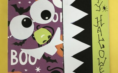 Beginner Halloween card class Oct. 28, Thurs. 9:30 am – 11:30 am