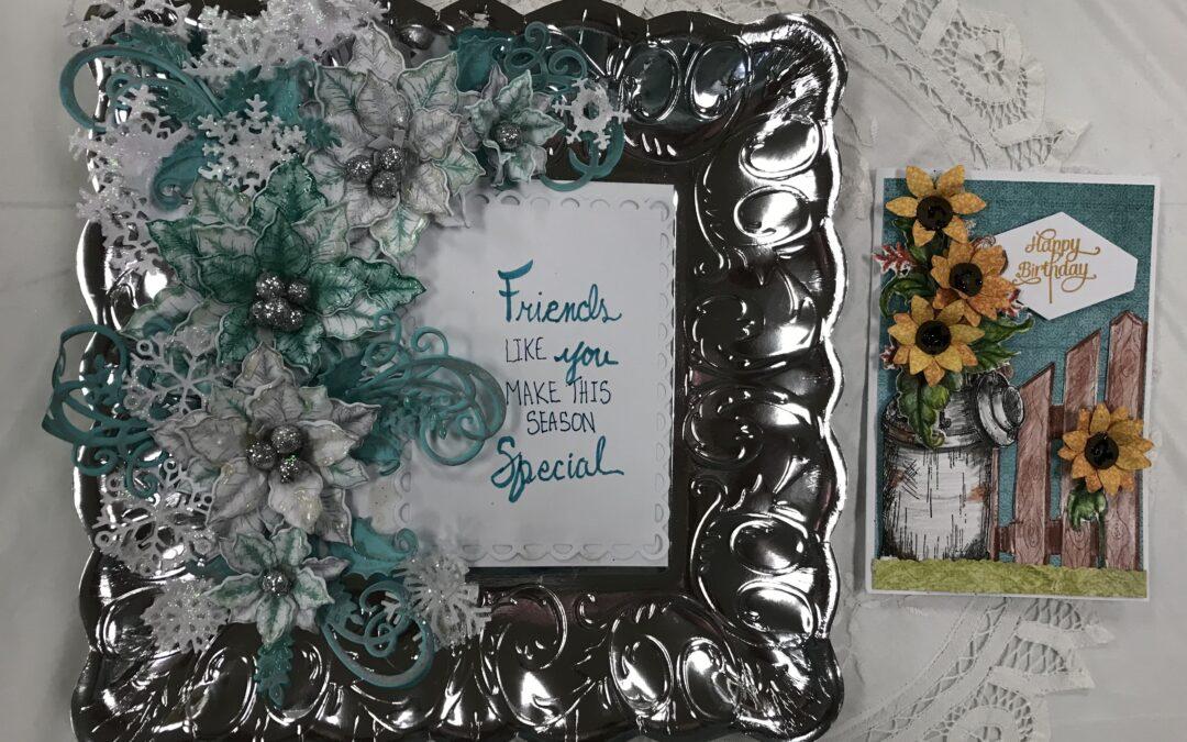Oct. 14, Thurs. Heartfelt Sunflower/Festive project class 9:30 am – noon