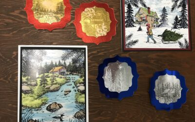 Oct. 21, Thurs. Stampscapes Card Class 9:30 am – noon